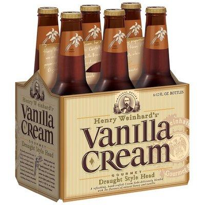 Henry Weinhard's Vanilla Cream Hard Soda