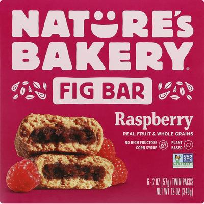 Nature's Bakery Whole Wheat Raspberry Fig Bar