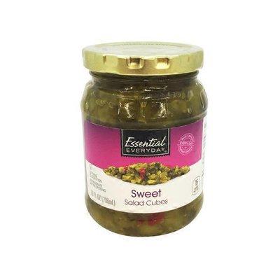 Essential Everyday Sweet Salad Cube Pickles