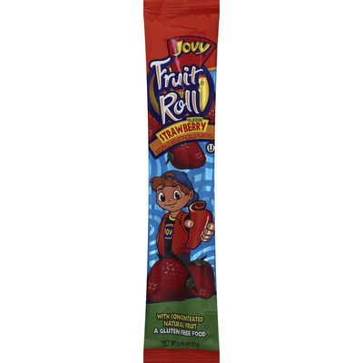 Jovy Fruit Roll, Strawberry Flavor