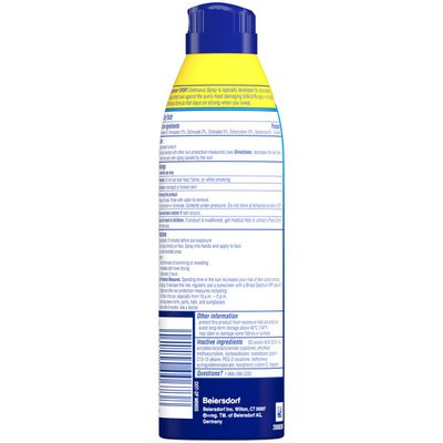 Coppertone Sport Sunscreen Continuous Spray SPF 100