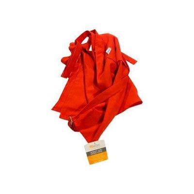 MU Kitchen Red Cotton Kitchen Apron With Adjustable Neck Strap & 2 Large Pockets