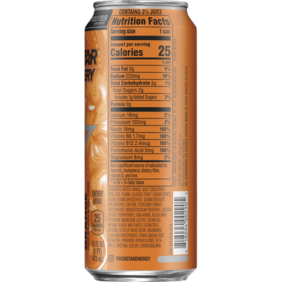 Rockstar Energy Drink, Orange