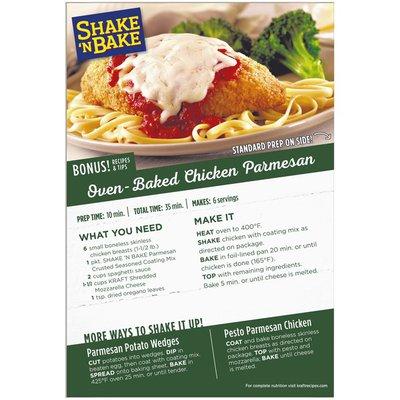 Shake 'N Bake Parmesan Crusted Seasoned Coating Mix