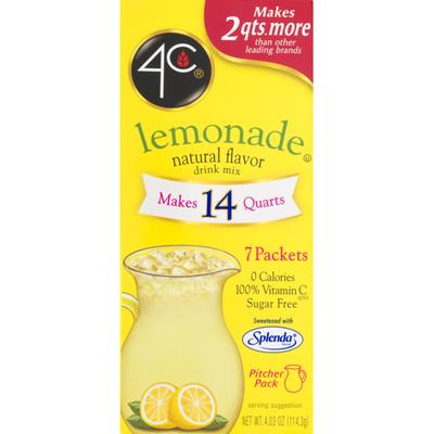 4C Foods Lemonade Drink Mix