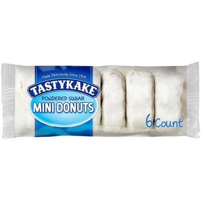 Tastykake Powdered Sugar Mini Donuts