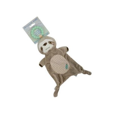 Douglas Kids Gear Sloth Teether & Plush Soother
