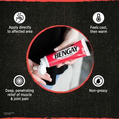 BENGAY Greaseless Pain Relieving Cream