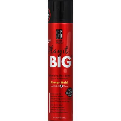 Salon Grafix Hair Spray, Volumizing, Firmer Hold 4