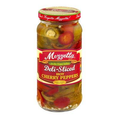 Mezzetta Cherry Peppers, Sliced, Hot