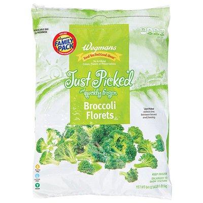 Wegmans Frozen Broccoli Florets, FAMILY PACK