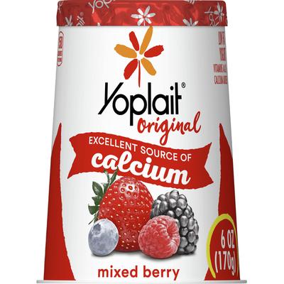 Yoplait Yogurt, Low Fat, Mixed Berry