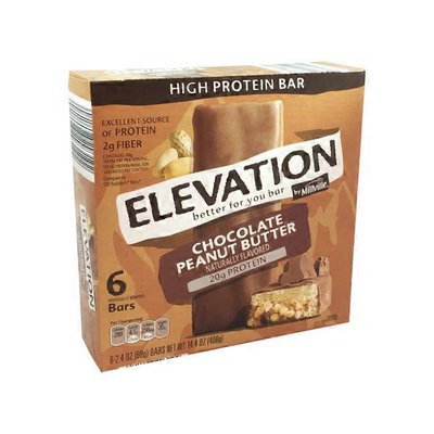 Elevation Peanut Butter High Protein Bars
