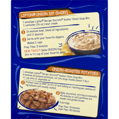 Lipton Kosher Recipe Secrets Soup & Dip Mix Onion