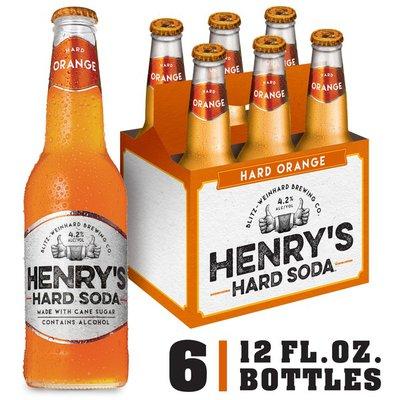 Henry's Hard Soda Hard Orange Hard Soda