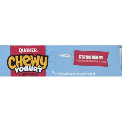 Quaker Chewy Yogurt Strawberry Granola Bars