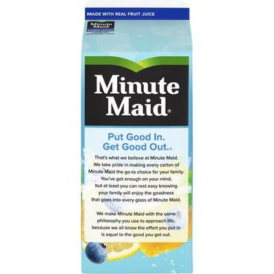 Minute Maid Premium Blueberry Lemonade, Fruit Drink