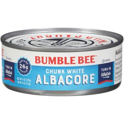 Bumble Bee Premium Chunk White Albacore in Water