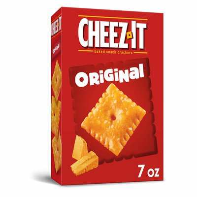 Cheez-It Cheese Crackers, Baked Snack Crackers, Office and Kids Snacks, Original