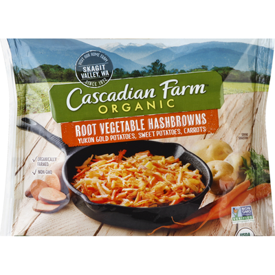 Cascadian Farm Hashbrowns, Root Vegetable