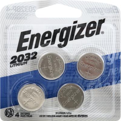 Energizer 2032 Batteries, 3V Lithium Coin Batteries