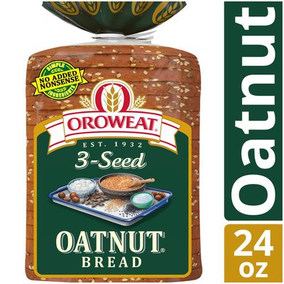 Brownberry/Arnold/Oroweat Whole Grains 3-Seed Oatnut Bread