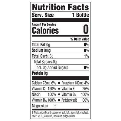 Glaceau Vitaminwater Sugar Rise, Electrolyte Enhanced Water W/ Vitamins, Orange Drinks