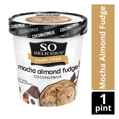 So Delicious Dairy Free Mocha Almond Fudge Coconutmilk Non Dairy Frozen Dessert