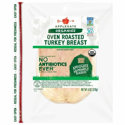 Applegate Organic Oven Roasted Turkey Breast