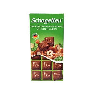 Schogetten Milk Chocolate, with Hazelnuts