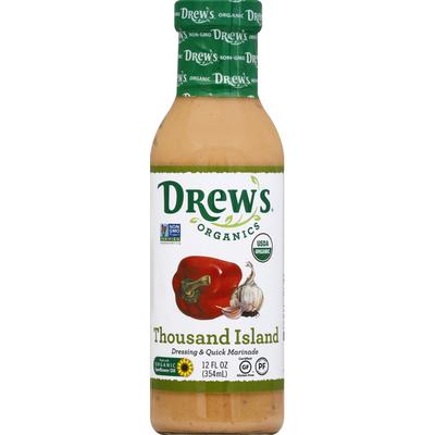 Drew's Dressing & Quick Marinade, Thousand Island
