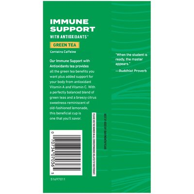Celestial Seasonings Immune Support Green Tea Bags