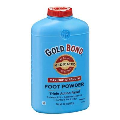 Gold Bond Foot Powder, Maximum Strength