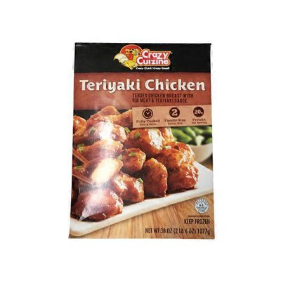 Crazy Cuizine Tender Chicken Breast With Rib Meat And Teriyaki Sauce