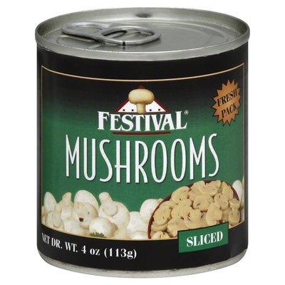 Festival Mushrooms, Sliced, Fresh Pack