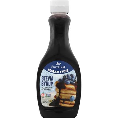 SweetLeaf Stevia Syrup, Sugar Free, Blueberry Flavored
