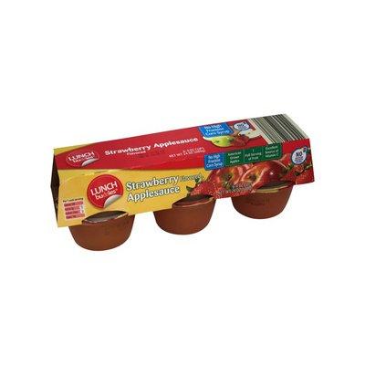 Lunch Buddies Strawberry Applesauce Cups