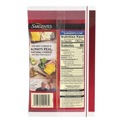 Sargento® Sliced Sharp Natural Cheddar Cheese