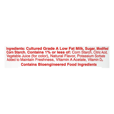 Yoplait Yogurt, Low Fat, Strawberry, Smooth Style