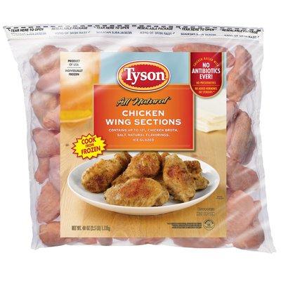Tyson Frozen Chicken Wing Portions