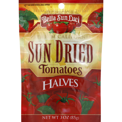 Bella Sun Luci Tomatoes, Sun Dried, Halves
