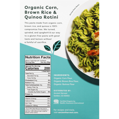 Ancient Harvest Organic Pasta
