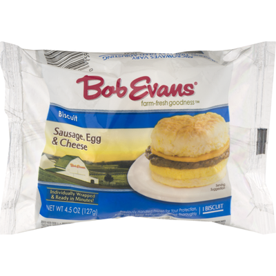 Bob Evans Farms Biscuit Sausage, Egg & Cheese