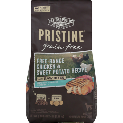 Pristine Dog Food, Free-Range Chicken & Sweet Potato Recipe