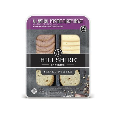 Hillshire Farm Hillshire® Snacking Small Plates, All Natural* Peppered Turkey Breast with Natur