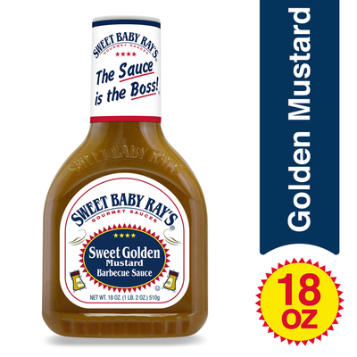 Sweet Baby Ray's Barbecue Sauce, Sweet Golden Mustard