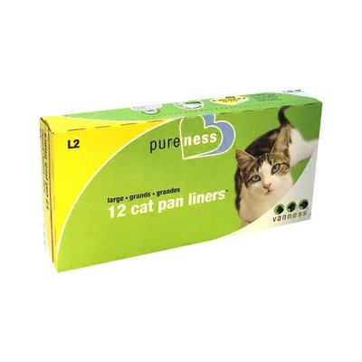 Pureness Large Cat Pan Liners