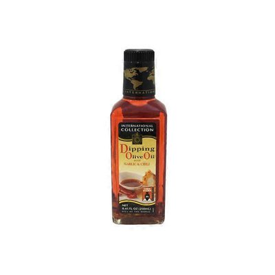 International Collection Dipping Olive Oil With Garlic & Chili