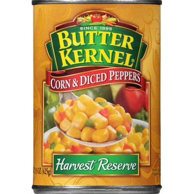 Butter Kernel Corn & Diced Peppers