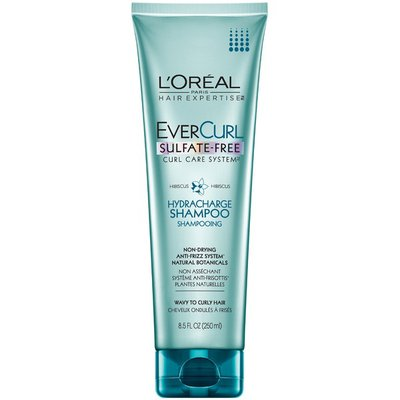 Evercurl Sulfate-Free Curl Care System Hydra-Charge Shampoo